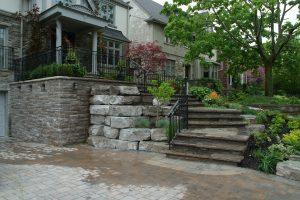 Entrance Way - Vago Landscaping and Construction