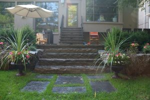 Entrance Way - Vago Landscaping and Construction